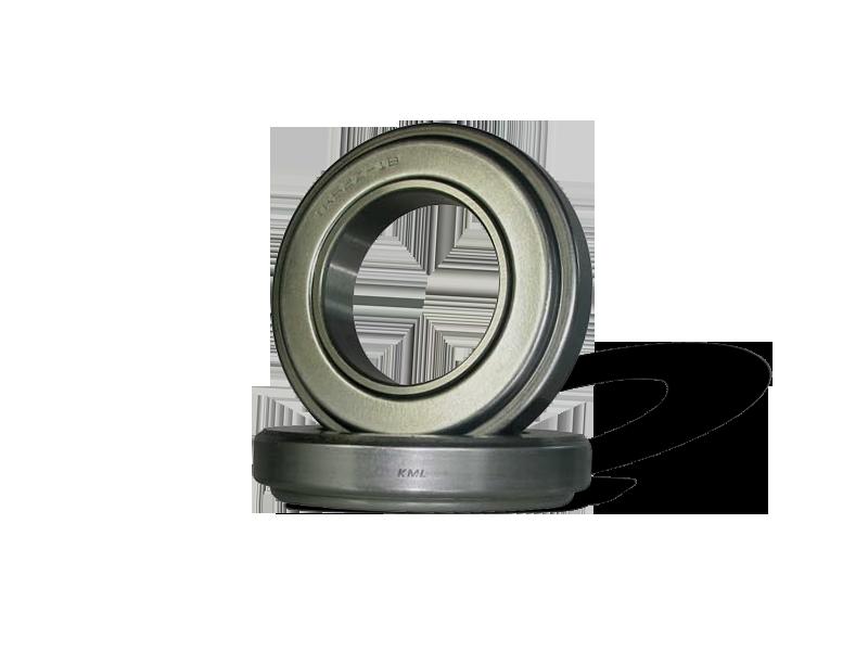 Assemblies with sealed angular contact ball bearings